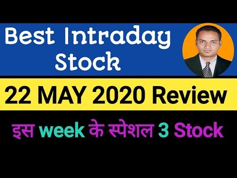 Best intraday trading stock For 22 May 2020 Review  stock for tomorrow t...