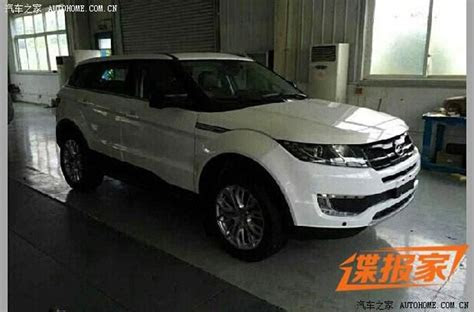 land rover  sue chinese automaker  copied range