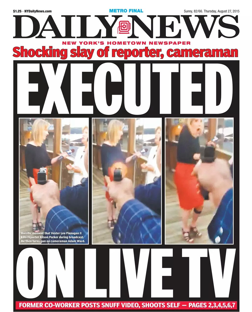 Daily News Front Page for Today 8/27/15 - Imgur
