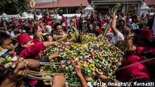 Indonesien Yogyakarta Fest des Fastenbrechens Eid El Fitr