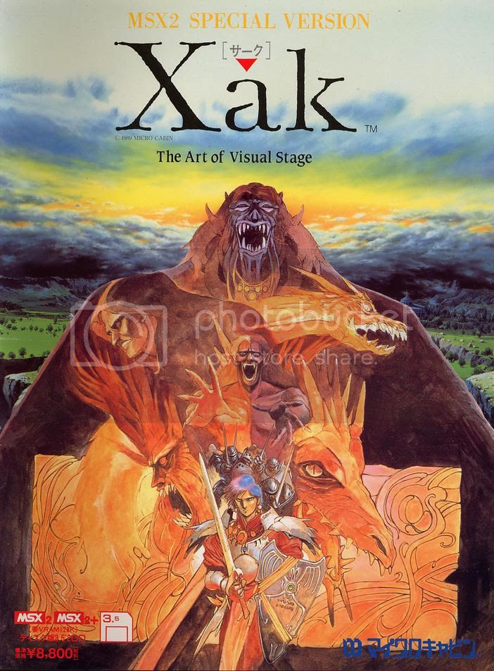 Xak The Art of Visual Stage