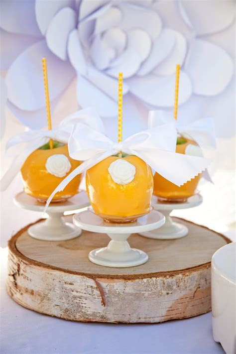Kara's Party Ideas Yellow and White First Communion Party