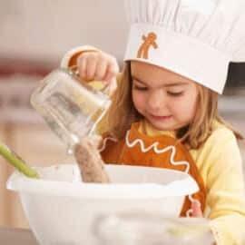 Actividades para cocinar con niños y medir cantidades