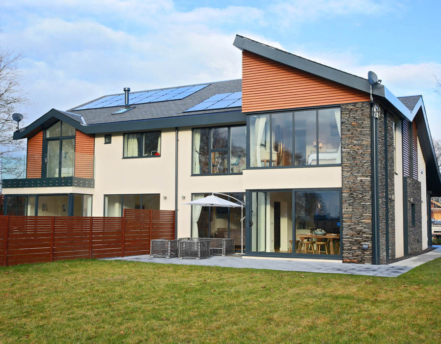 Eco-developer Egg Homes have designed an energy efficient home that offers an estimated 75% reduction in bill costs compared to a standard home