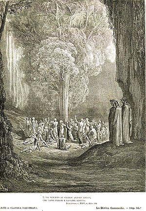 Gustave Doré: illustration for Dante's Purgato...