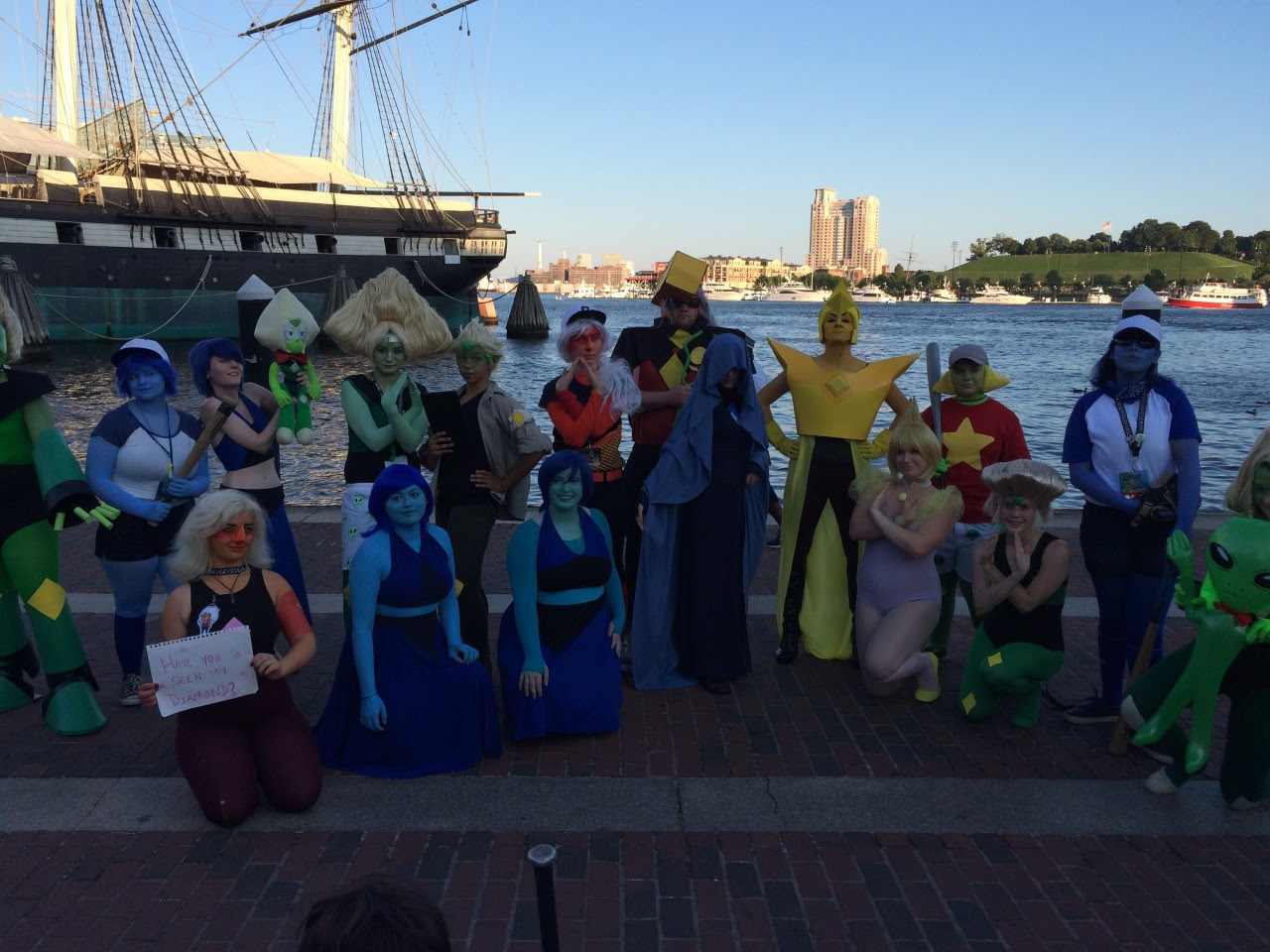 some photos from the steven universe photoshoot at otakon tag yourself if you're in here!