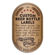 Custom Beer Bottle Labels   Personalized 24 pk ? Artision