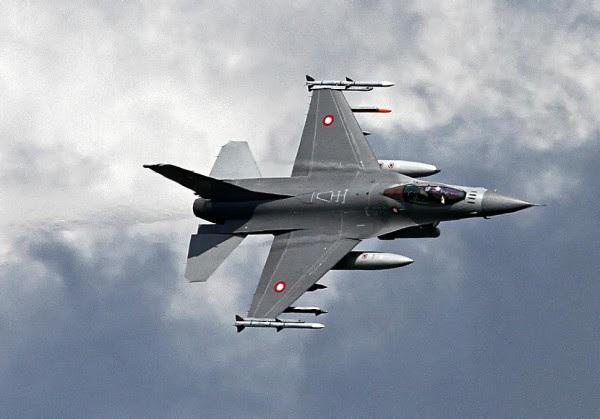 F-16 Denmark di Irak