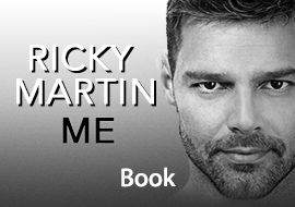 Me by Ricky Martin, Book