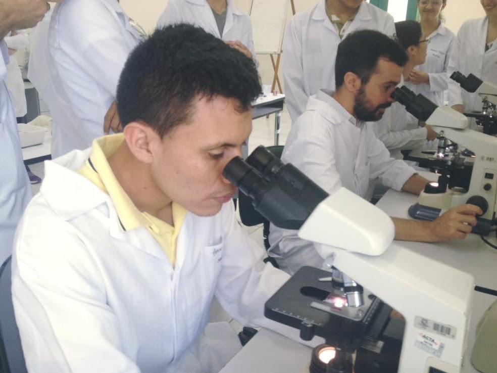 O estudante de medicina Igor Mateus usa o app do G1 Enem até hoje (Foto: Arquivo pessoal)