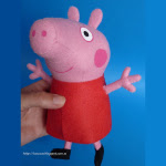 Come fare Peppa Pig in feltro Cartamodello e Tutorial