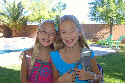 First day of 4th grade!