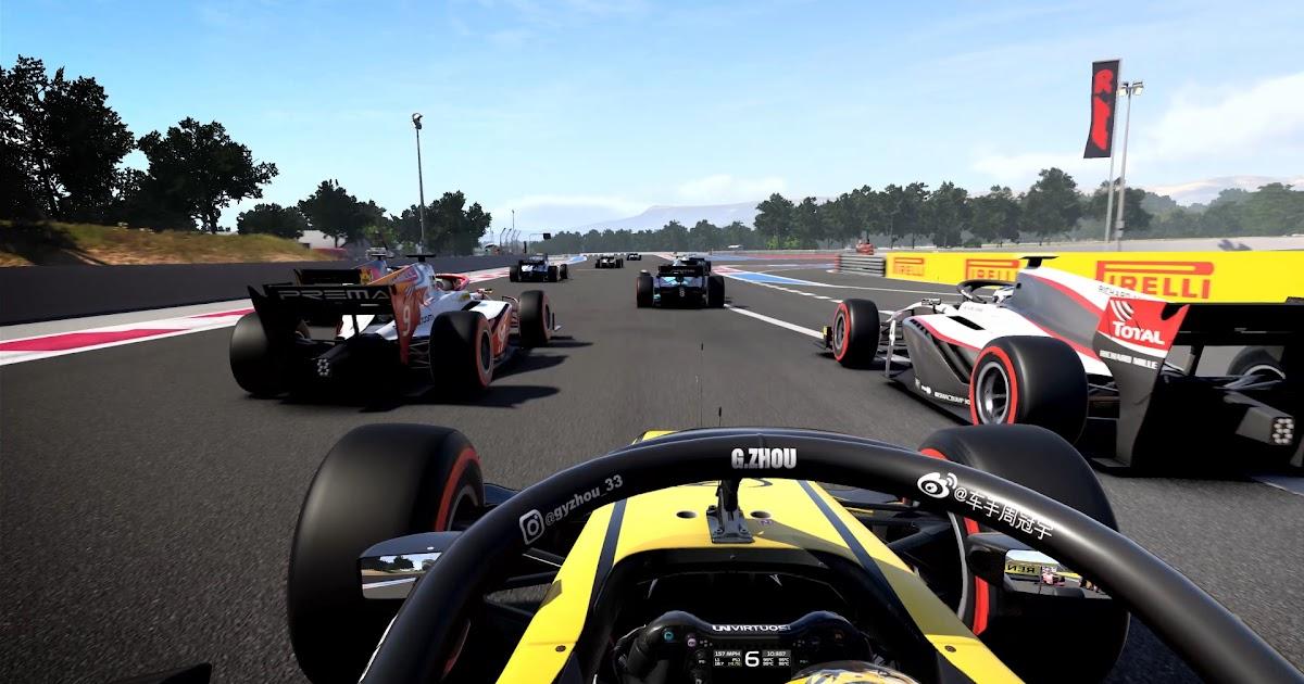 F1 2021 Gameplay / F1 2020 (Gameplay) - YouTube - Kursi roda