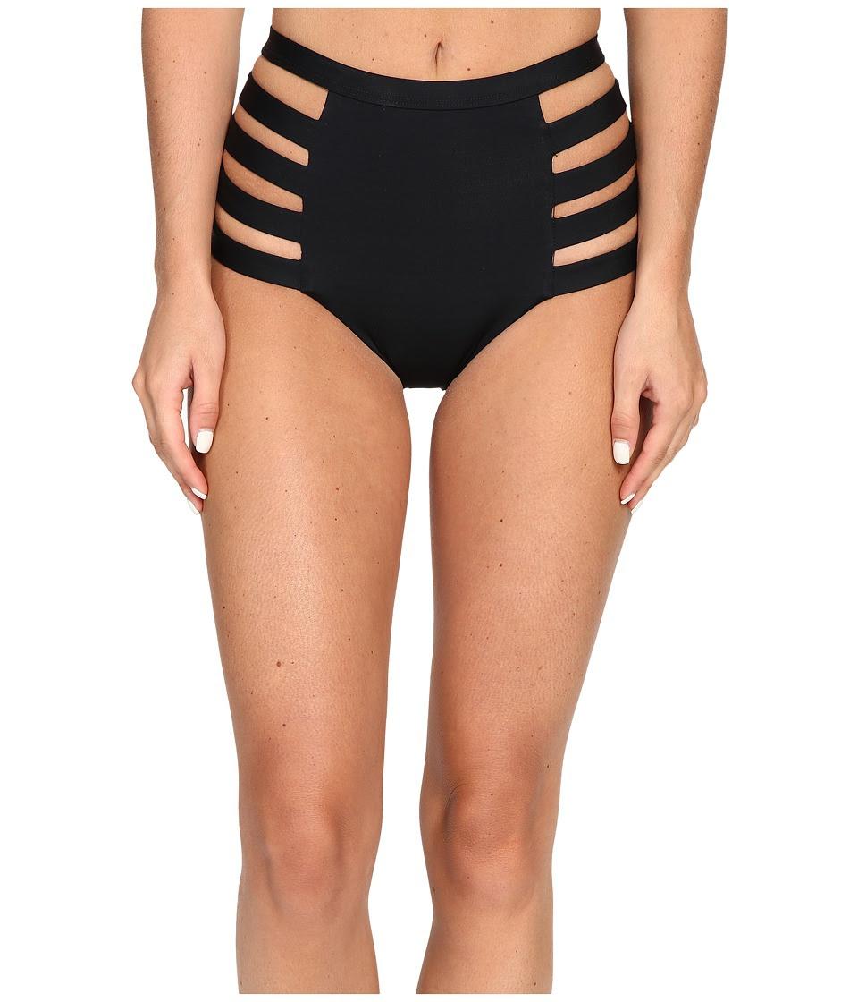 Vitamin A Swimwear - Neutra High Waist Bottom (Eco Black) Women's Swimwear