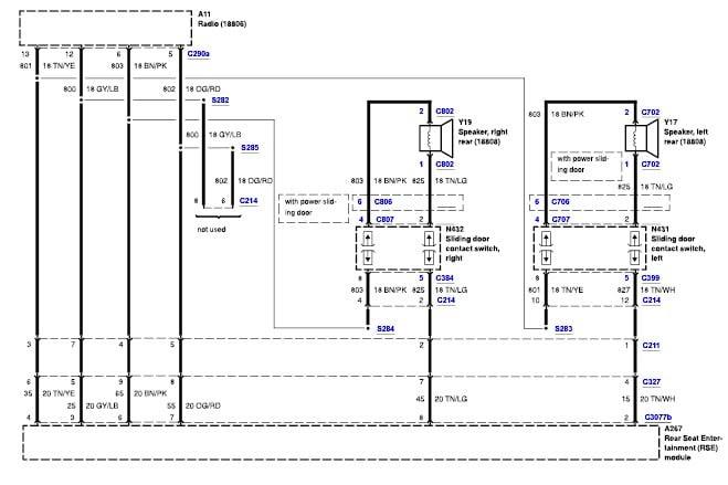 2000 Windstar Radio Wiring Diagram - Wiring Diagram