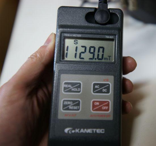 磁束密度計