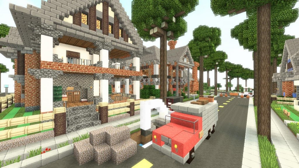 Minecraft High Quality Resource Pack - Muat Turun 4