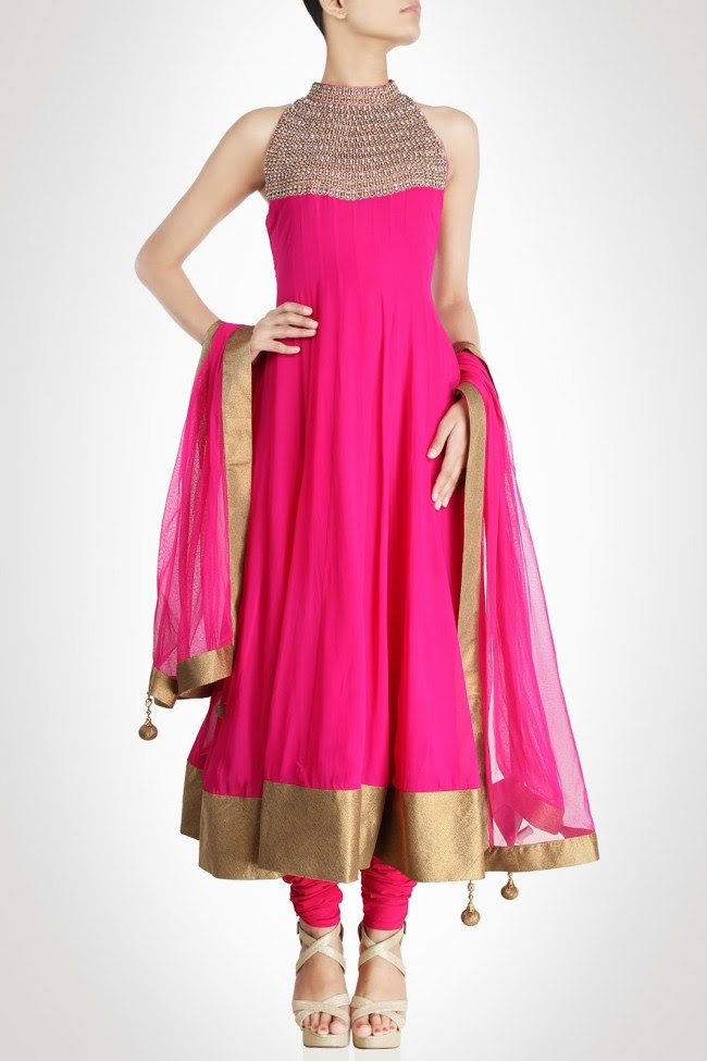 Girls-Women-Wear-Beautiful-Anarkali-Churidar-Gotazari-Frock-New-Fashion-Outfits-8