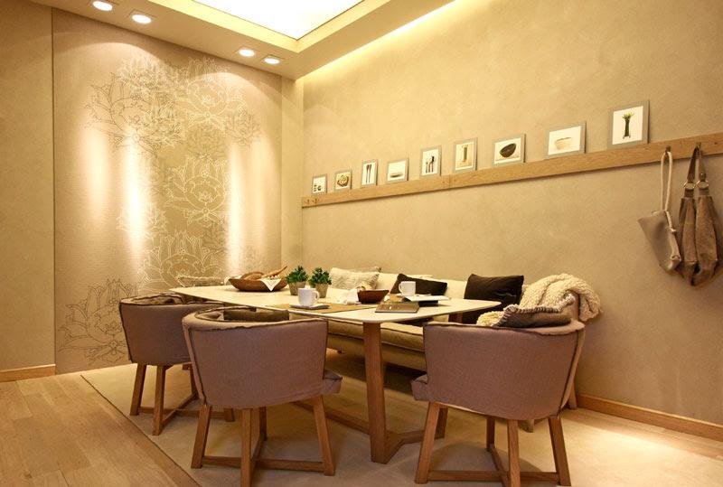 Casa foa 2010 espacio n 12 comedor diario judith for Colores para living comedor