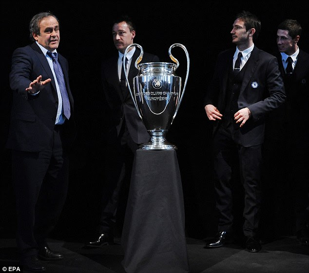 Chelsea Hand Over Champions League Trophy And It Survives