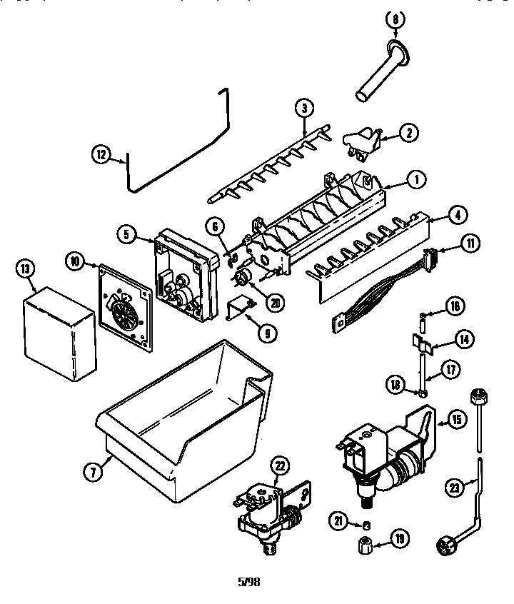 Bar Refaeli Buzz  Ice Maker Wiring Diagram