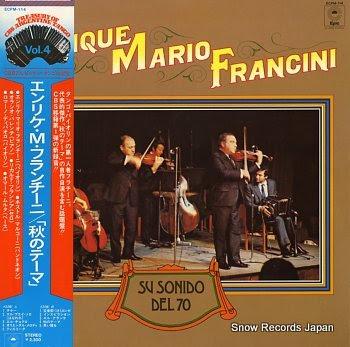 FRANCINI, ENRIQUE MARIO su sonido del 70