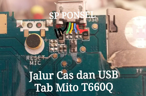 Mito T660Q Usb Charging Problem Solution Jumper Ways