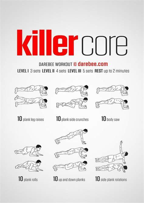 darebee  twitter  killer core workout httpstco