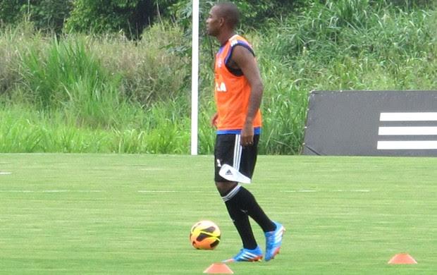 Samir Treino Flamengo (Foto: Richard Souza)