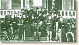 Officers before the battle