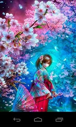 Download Free 3D Sakura Magic Android Mobile Phone Wallpaper  2923  MobileSMSPK.net