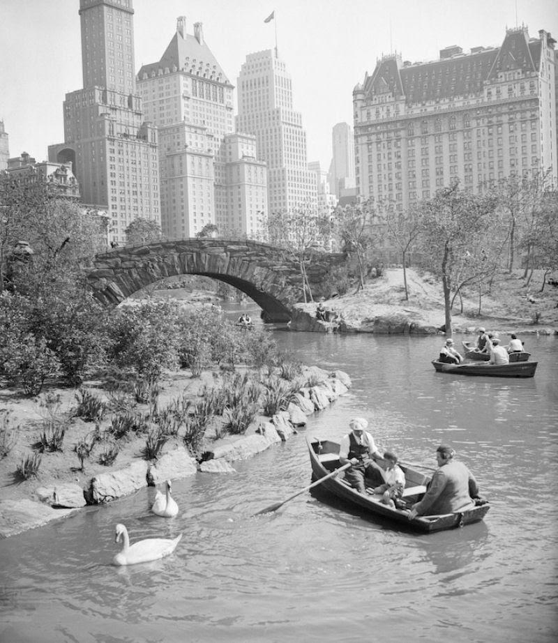 Fotos marcantes mostram a cidade de Nova Iorque ontem e hoje 01
