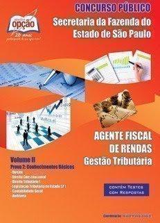 SEFAZ - Secretária da Fazenda-AGENTE FISCAL DE RENDAS - VOLUME II