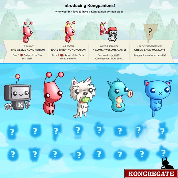 Come sbloccare i Compagni in Kongragate, giochi online gratuiti