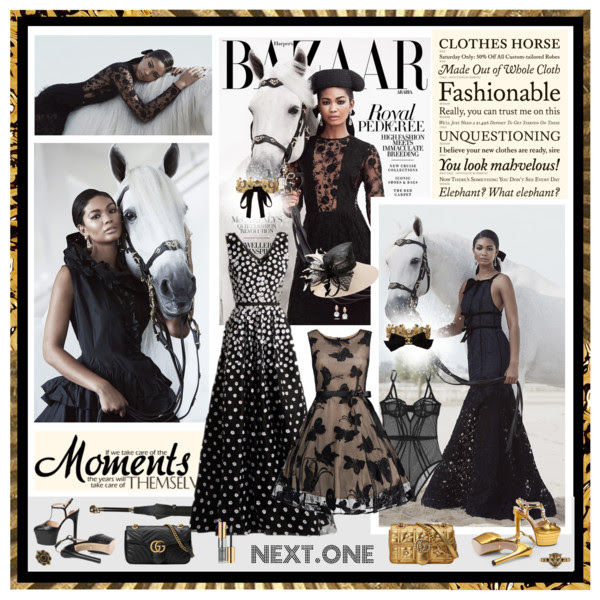 Harper's Bazaar Arabia NOV 2015: Chanel Iman (2)