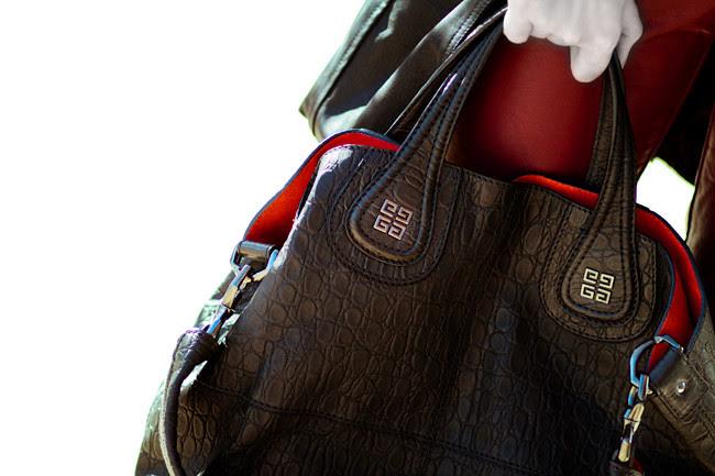 Givenchy Nightingale bag, Fashion, Croco