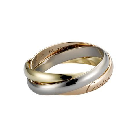 Trinity ring 3 gold REF: B4086100 Three bands. Three types