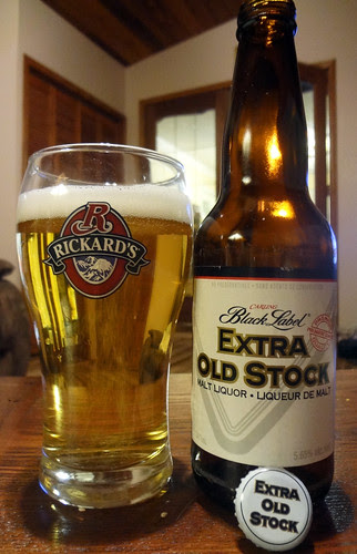 Carling Black Label Extra Old Stock (Malt Liquor) by Cody La Bière