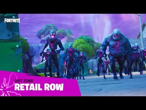 Fortnite v10.10 Update Patch Notes | Retail Row, BRUTE changes, Fiends