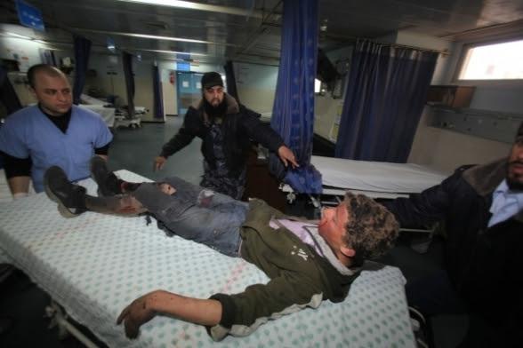 Gaza Under Attack Oct 28, 2012 Photo by Safa.ps