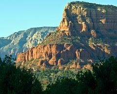 "Sedona Mountainside and ""Hidden"" Chu..."