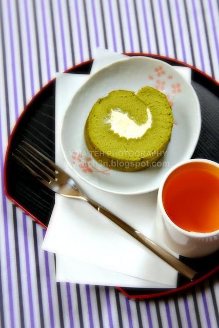Matcha Rolled Cake