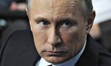 Vladimir Putin at media forum in St Petersburg