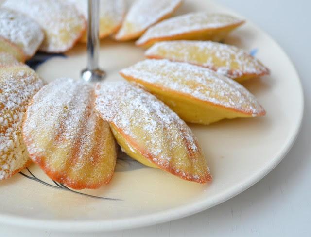 Lemon Madeleines for My Love