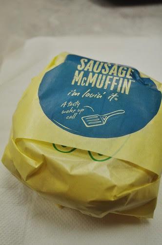 sausage mcmuffin