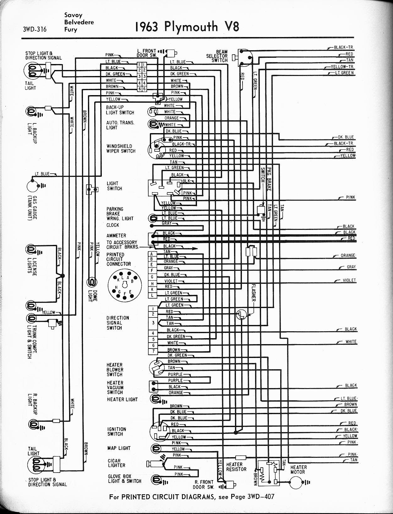 Dd30e6 1955 Plymouth Belvedere Wiring Diagram Wiring Library