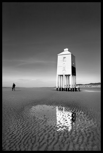 lighthouse Refelection por Dave Hayward