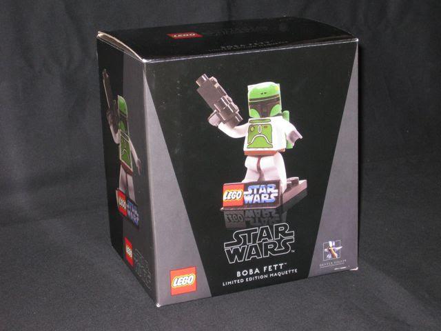 Boba Fett Lego Minifigure. Boba Fett Maquette