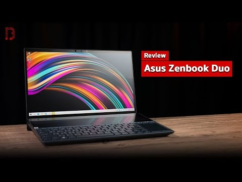 รีวิว Asus Zenbook Duo โน๊ตบุ๊ค 2 จอ ขุมพลัง Intel Gen 10th พร้อมตอบโจทย์ Content Creator