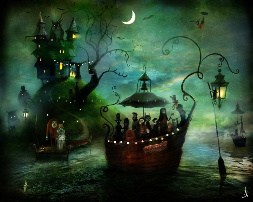 Alexander Jansson illustration fairytale7